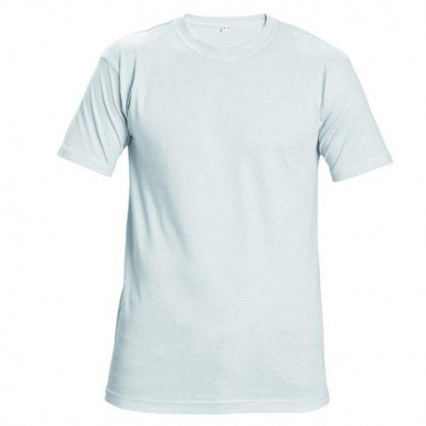 Tričko TEESTA s krátkym rukávom, biele