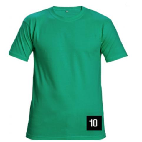 Tričko s krátkym rukávom GARAI, zelené