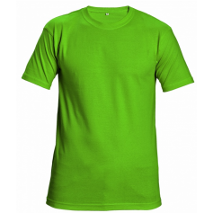 Tričko s krátkym rukávom GARAI, limetkové