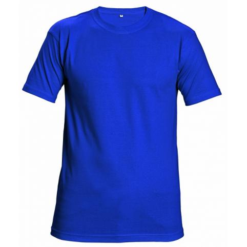 Tričko s krátkym rukávom GARAI, kráľovská modrá
