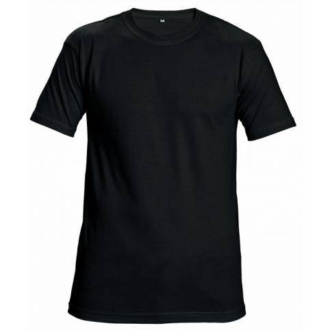 Tričko s krátkym rukávom GARAI, čierne