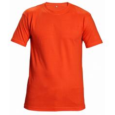 Tričko s krátkym rukávom GARAI, oranžová