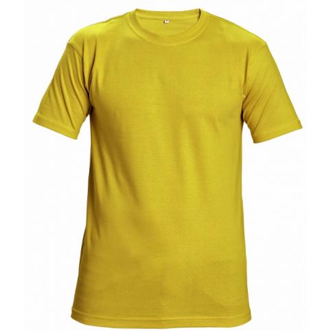 Tričko s krátkym rukávom GARAI, žlté