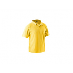 Polokošeľa DHANU, MICHAEL s krátkym rukávom, žltá