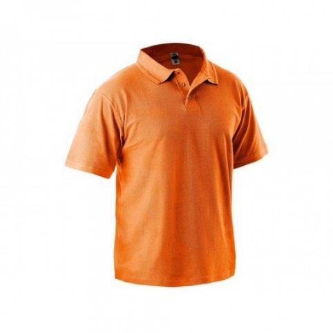 Polokošeľa DHANU, MICHAEL s krátkym rukávom, oranžová