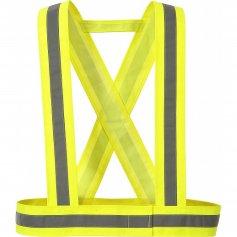 Reflexný kríž CXS HV55 HI-VIS žltý