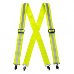 Reflexné traky HI-VIS žlté