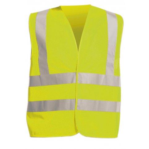 Reflexná výstražná vesta QUOLL, žltá