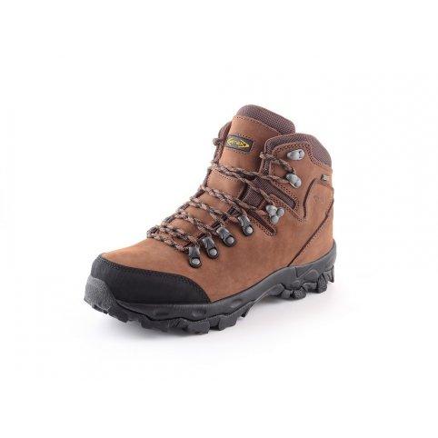 Členková trekingová obuv GOTEX MONT BLANC, hnedá