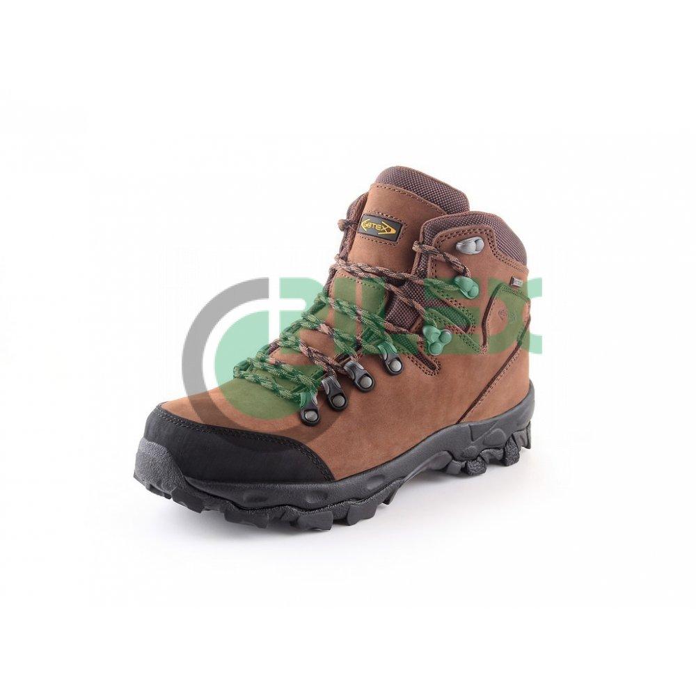 Členková trekingová obuv GOTEX MONT BLANC b71a02c5f2a