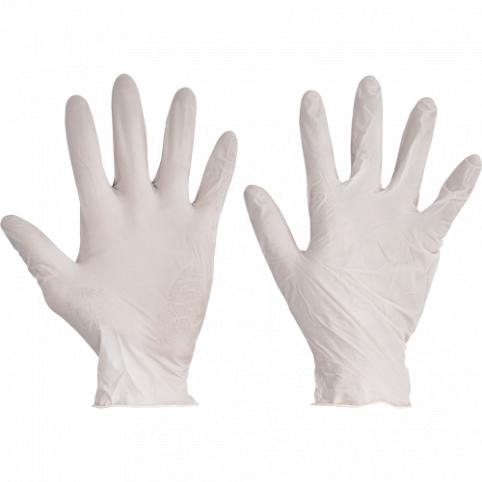 Jednorázové latexové rukavice LOON- 100ks v balení