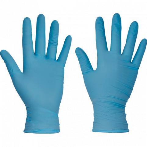 Jednorázové nitrilové rukavice BARBARY- 100ks v balení