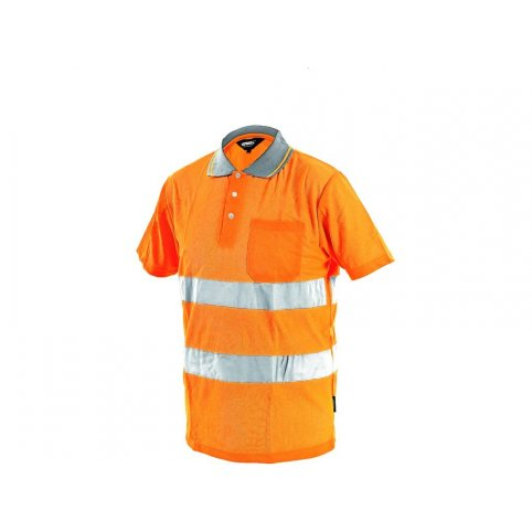 Pánska reflexná polokošeľa DOVER, oranžová
