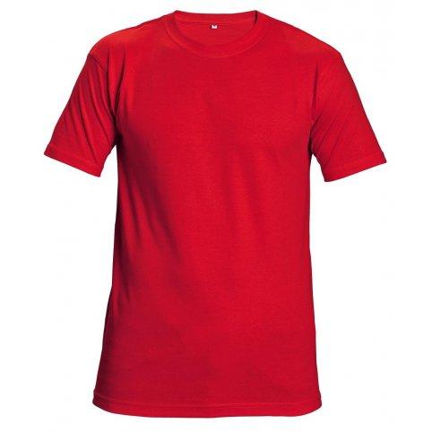 Tričko s krátkym rukávom GARAI, červené