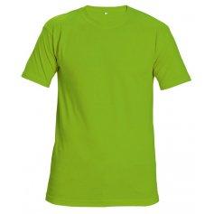 Tričko TEESTA FLUORESCENT s krátkym rukávom, zelené