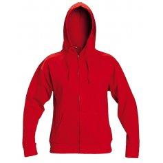 Mikina NAGAR s kapucňou, červená