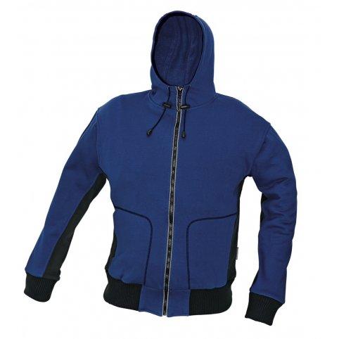 Mikina STANMORE s kapucňou, modrá