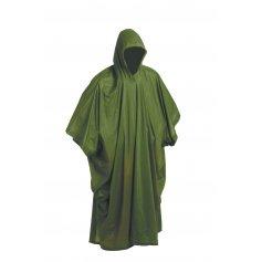 Pončo PVC, zelené