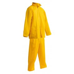 Dvojdielny oblek do dažďa CARINA, žltý