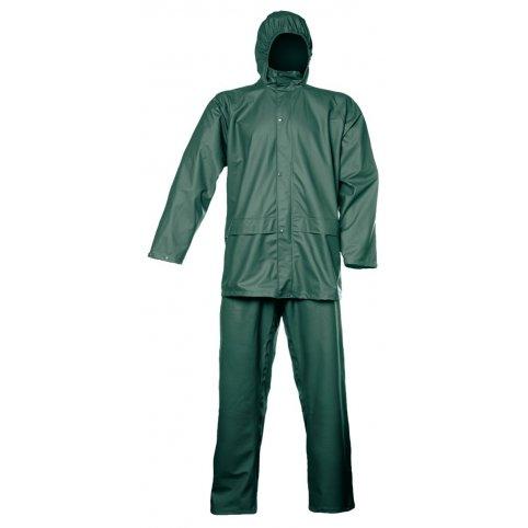 Plášť a nohavice do dažďa SIRET SET, zelené
