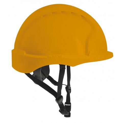 Bezpečnostná prilba EVO 3 LINESMANN neventilovaná žltá