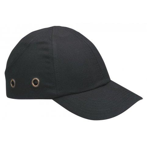 Bezpečnostná čiapka s ochrannou výstuhou DUIKER, čierna