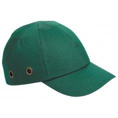 Bezpečnostná čiapka s ochrannou výstuhou DUIKER, zelená
