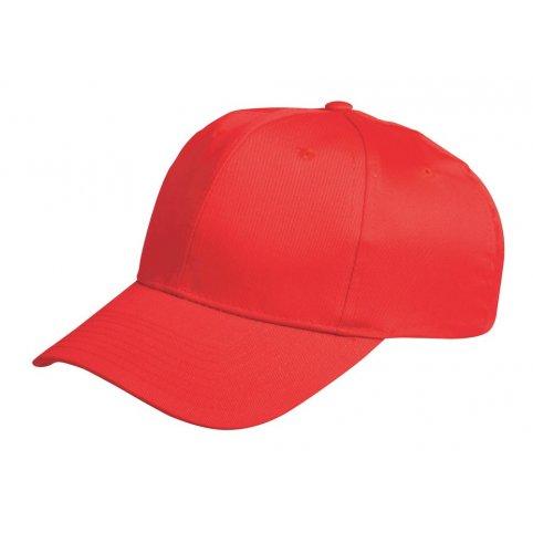 Bezpečnostná čiapka s ochrannou výstuhou BIRRONG, červená