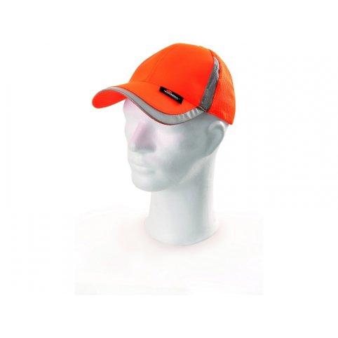 Reflexná šiltovka ELY, oranžová