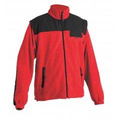 Fleecová bunda RANDWIK 2 v 1, červená