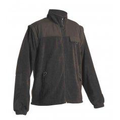 Fleecová bunda RANDWIK 2 v 1, čierna