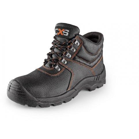 Členková obuv s oceľovou špicou MARBLE S3