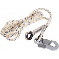 Pomocné lano LP 100 s karabínou, 2,5 m