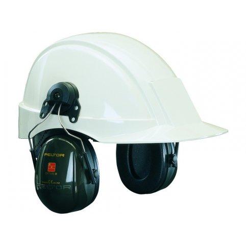 Mušľové chrániče sluchu s úchytmi na prilbu 3M PELTOR H520P3E-410-GQ