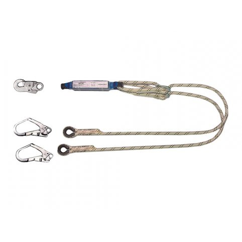 Tlmič pásu ABM s 2 lanami a 3 karabínami