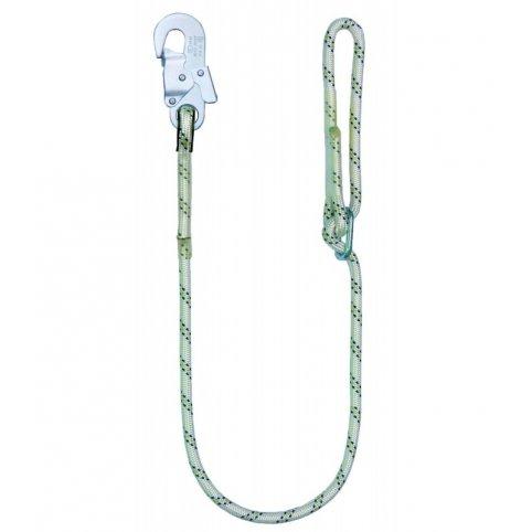 Bezpečnostné lano LB 100 s karabínou, 1,5 m