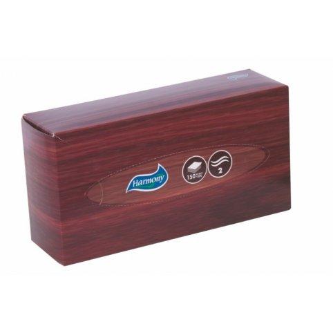 Papierové vreckovky HARMONY v krabičke