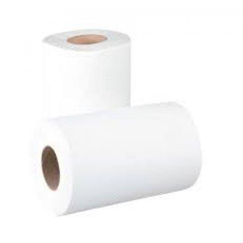 Papierová utierka MIDI v rolke, biela