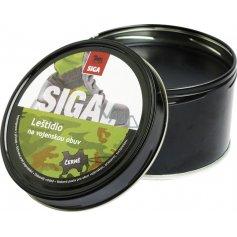 Leštidlo na obuv SIGAL, čierne, 250 g