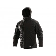 Pánska zimná bunda ALABAMA, čierna