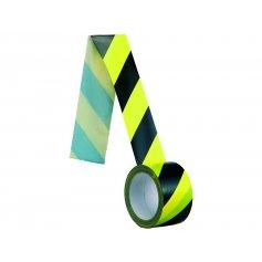Samolepiaca páska pravá, 60 mm, žlto-čierna