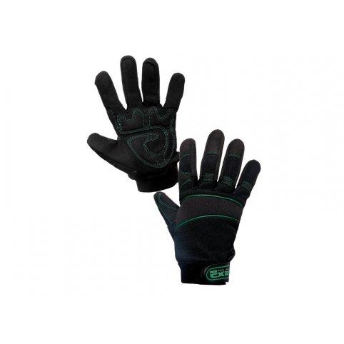 Kombinované rukavice GE-KON, veľ. 10