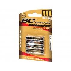 Mikrotužková batéria, alkalická, AAA, 4ks