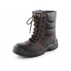 Zimná poloholeňová obuv s oceľovou špicou STONE TOPAZ S3