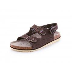 Pánske sandále CORK FILL, hnedé