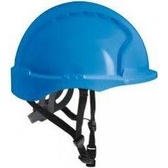 Bezpečnostná prilba EVO 3 LINESMANN neventilovaná modrá
