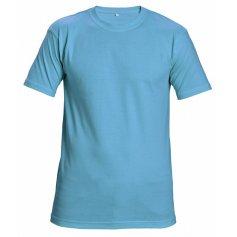 Tričko s krátkym rukávom GARAI, nebesky modré