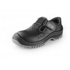 Sandále s oceľovou špicou SAFETY STEEL IRON S1