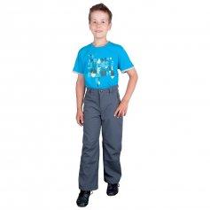 Detské softshellové nohavice TEDDY, sivé