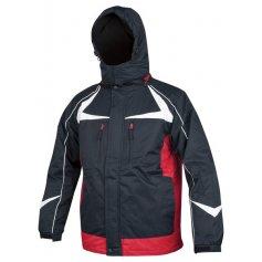 Pánska zimná bunda ARPAD, modro-červená